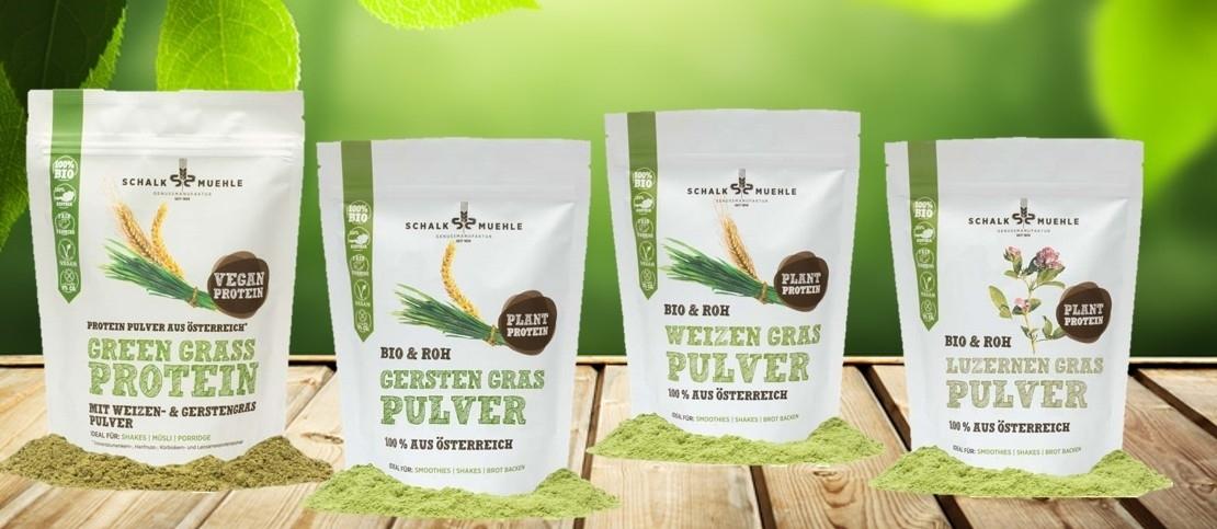 Bio Gräser Pulver