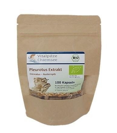 Bio Pleutorus Extrakt Kapseln 100 im Doypack