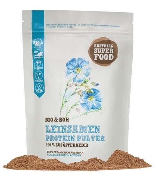 Bio & Roh Leinsamen Proteinpulver