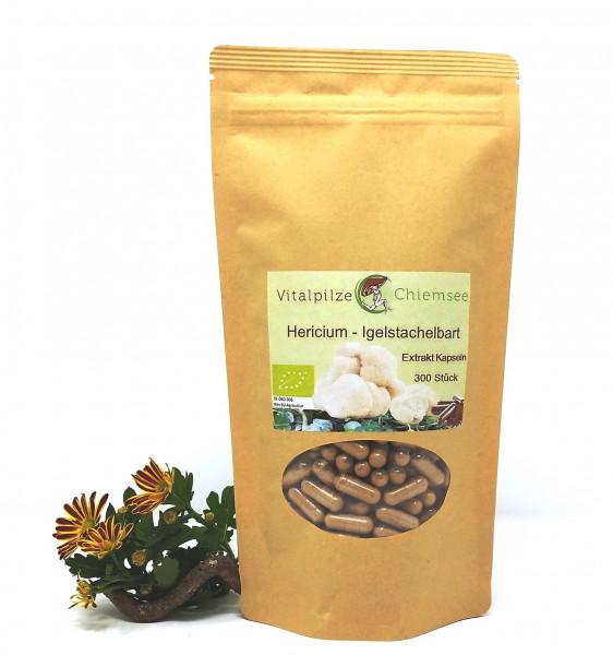 Bio Hericium Extrakt Kapseln 300 Nachfüllpack