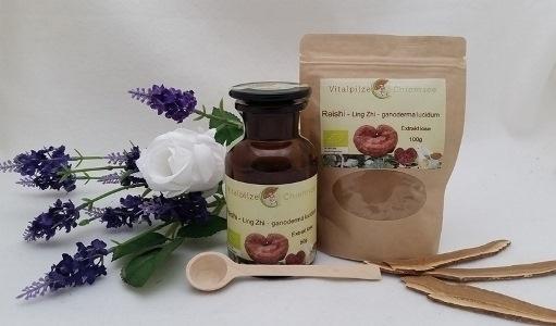 Bio Reishi (Ganoderma lucidum)- Ling Zhi Extrakt lose