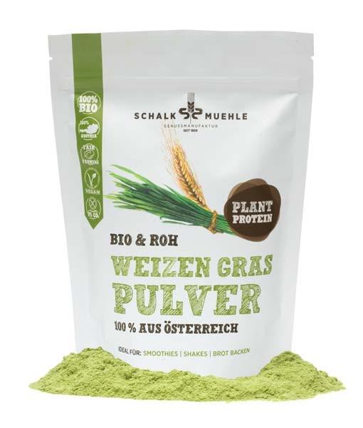 Bio & Roh Weizen Pulver 200g