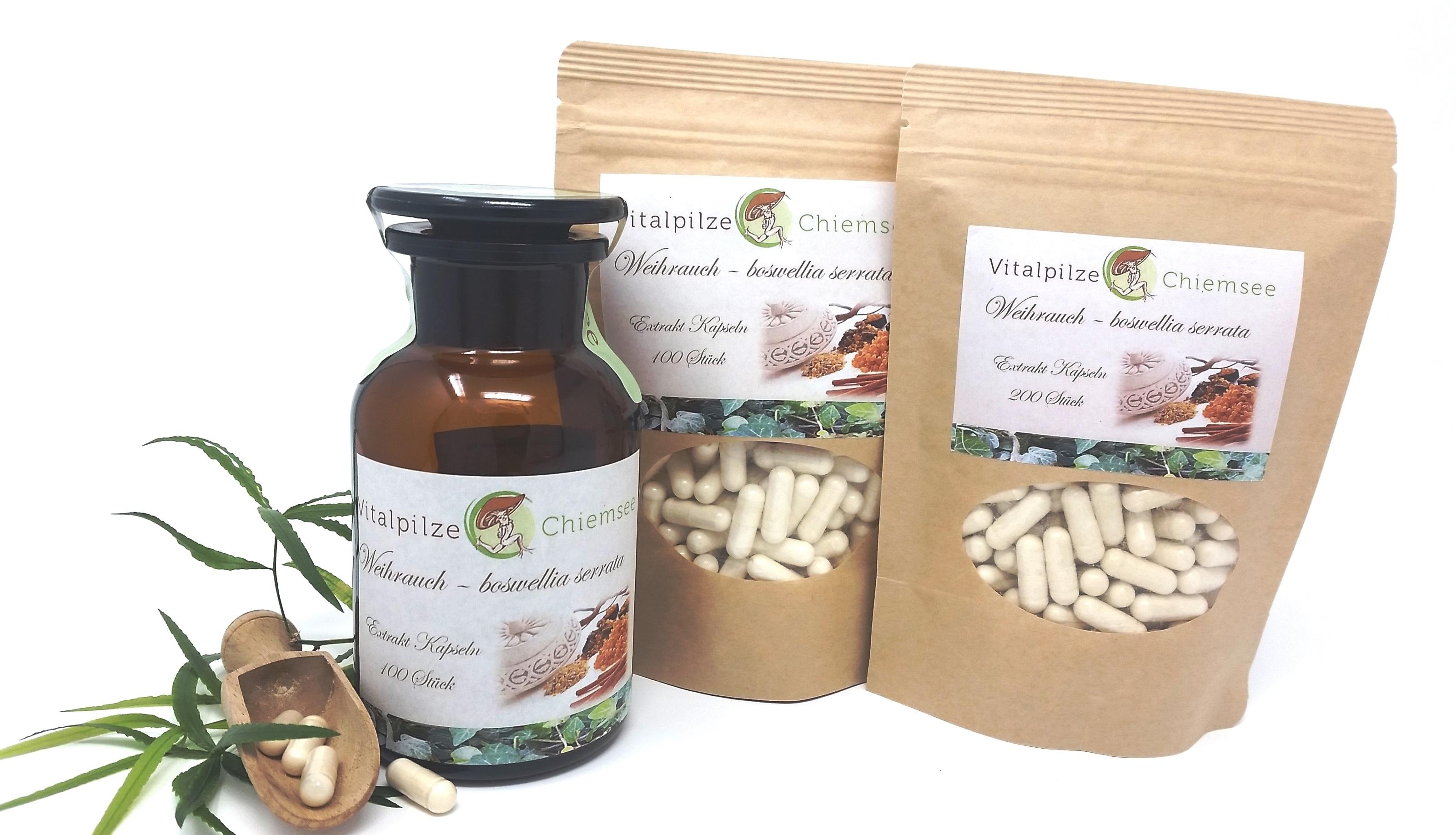 Indischer Weihrauch Extrakt Kapseln boswellia serrata