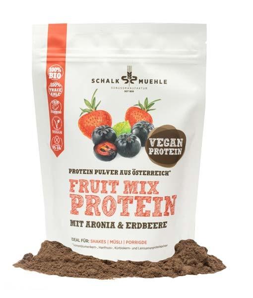 Bio Fruit Mix Protein Aronia + Erdbeeren 210g