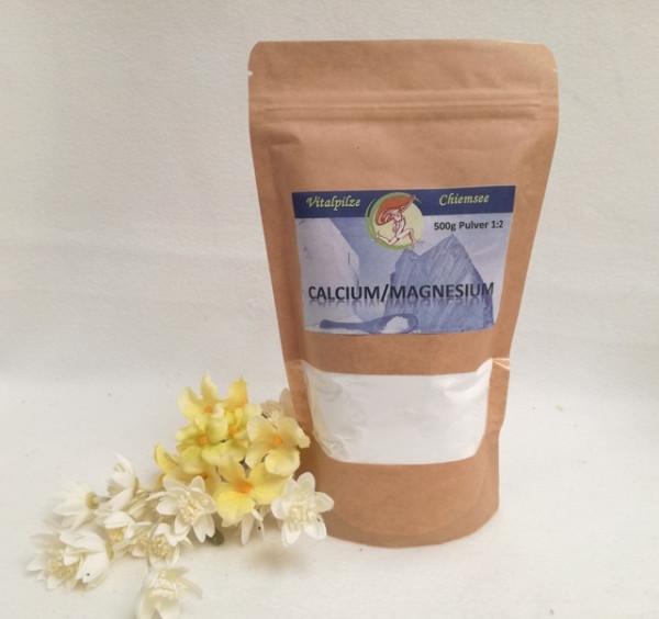 Calcium Magnesium Pulver 500g im Nachfüllpack