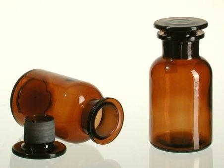Apotheker Weithals Flasche braun 250ml