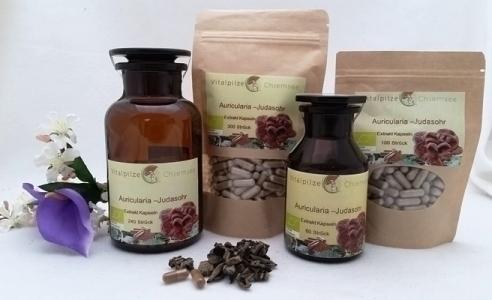 Bio Auricularia Extrakt Kapsel