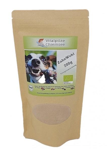 Hunde Vitalpilz Mischung ZahnWohl 200g im Doypack