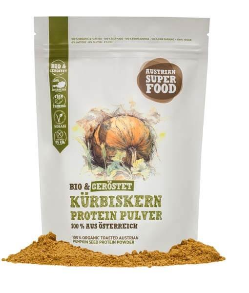 Bio Kürbiskern Protein Pulver geröstet 350g