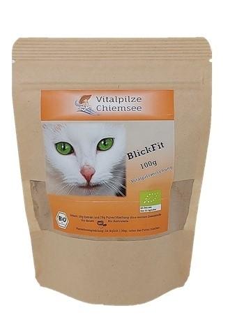 Katzen Vitalpilz Mischung BlickFit 100g im Doypack